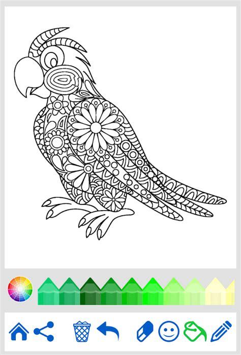 mandala coloring pages play coloring book animal mandala android apps on play