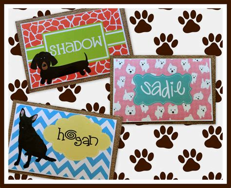Personalized Food Mats by Placemat Foot Mat Pet Placemat Pet Food Mat