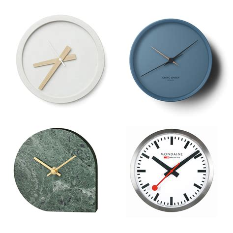 best wall clock best buys wall clocks elle decoration uk
