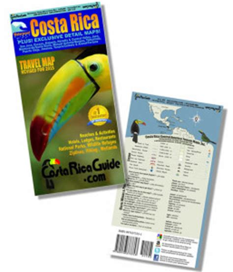 waterproof travel map of costa rica books waterproof travel map of costa rica ebookmanualspro