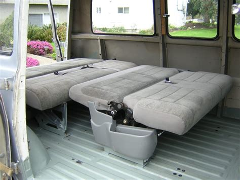 fold down bench seat for van fold out bed for a quot g quot