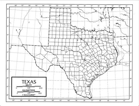 latitude and longitude map of texas texas map latitude longitude