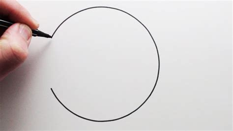 R Drawing Circle by How To Draw A Circle Freehand Narrated Step By
