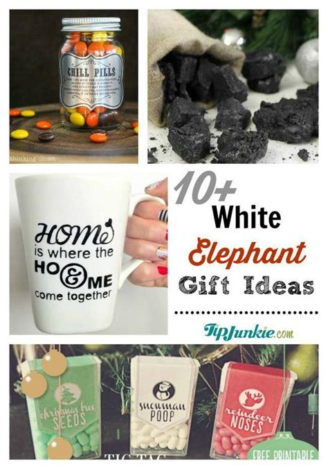 white elephant gift exchange jpg gift ideas pinterest