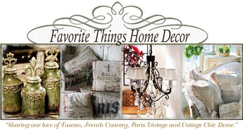 favorite things home decor