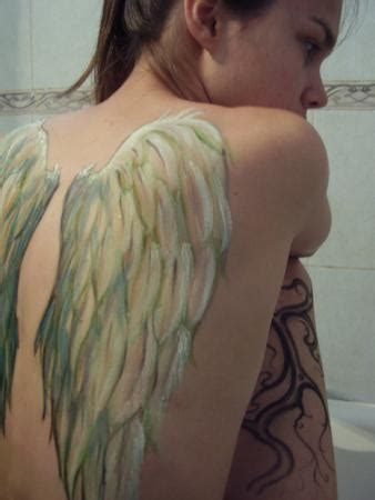 angel tattoo real real angel wings tattoo designs for girls back wow