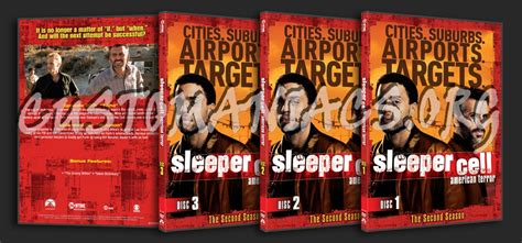 Sleeper Cell 2 by Forum Tv Show Scanned Thinpaks Page 18 Dvd Covers