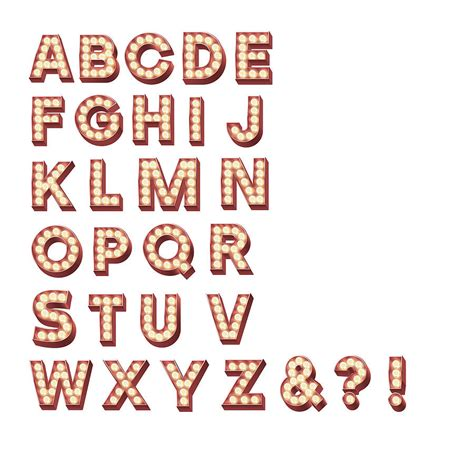 printable marquee letters retro cinema marquee letters wall sticker marquee