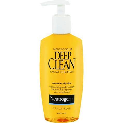 deep clean neutrogena neutrogena deep clean facial cleanser review