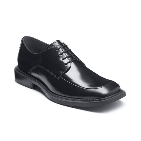 kenneth cole oxford shoes kenneth cole silver merge oxford dress shoes in black for