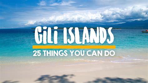 gili islands travel blog