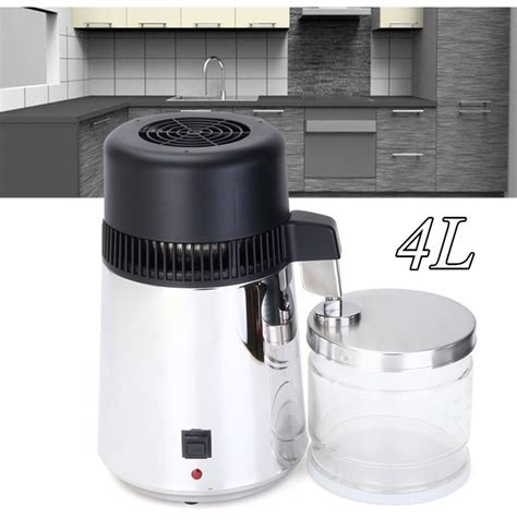 220v kitchen appliances 220v 304 stainless steel water distiller 4l pure water