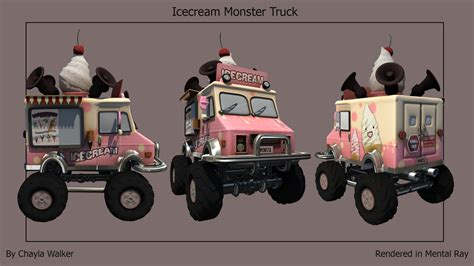 monster truck videos you ice cream monster truck best truck in the word 2018