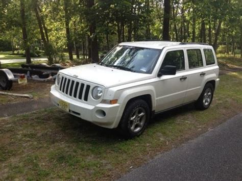 Jeep Patriot Issues Sell Used 2007 Jeep Patriot Excellent Condition No
