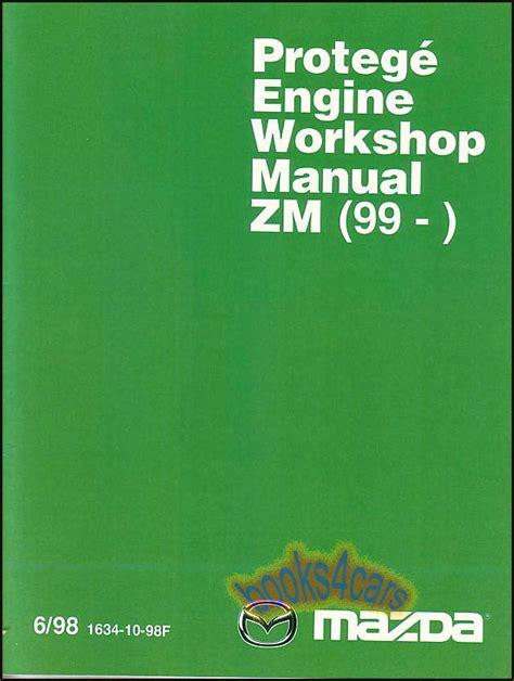 shop manual protege service repair mazda book zm engine familia 1999 2002 ebay