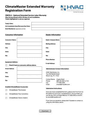 Form Warranty Registration Template Amp Form Warranty Registration Template Printable Product Registration Form Template