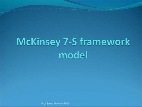 Mckinsey Mba Tuition Reimbursement by 76166654 Mc Kinsey 7 S Framework Model