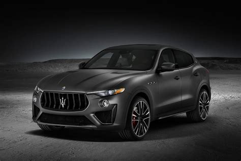 levante maserati black 2019 maserati levante trofeo is one of the fastest