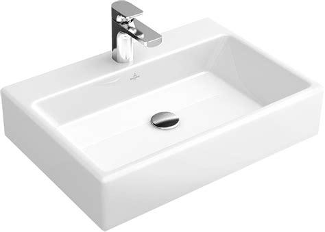 memento aufsatzwaschtisch eckig 513550 villeroy boch - Waschbecken Villeroy Boch