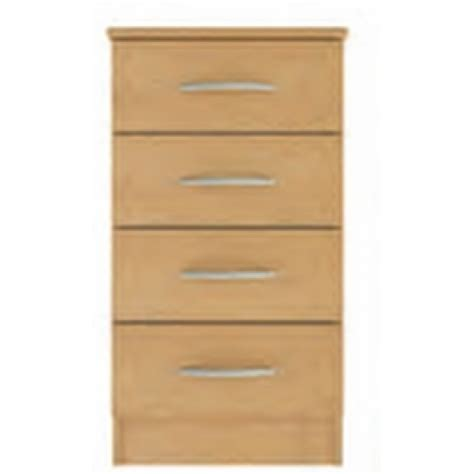Banbury 4 Drawer Bedside Cabinet