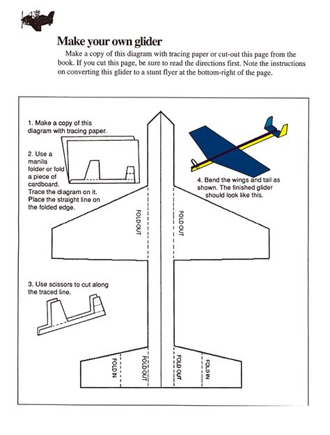 How To Make A Glider Out Of Paper - dan s interactive an interactive deisgn