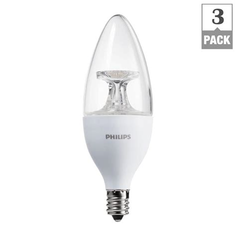 candelabra led bulbs philips 40w equivalent soft white b11 candelabra base led
