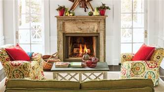 Model Homes Decorated 25 cozy ideas for fireplace mantels southern living
