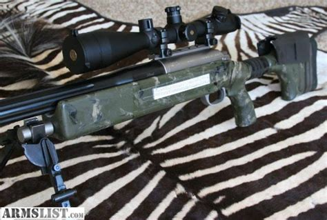 ARMSLIST - For Sale: McMillan 50 BMG- Single Shot Tactical Mcbros 50 Bmg