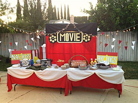 backyard movie night ideas triyae com backyard movie night party various design