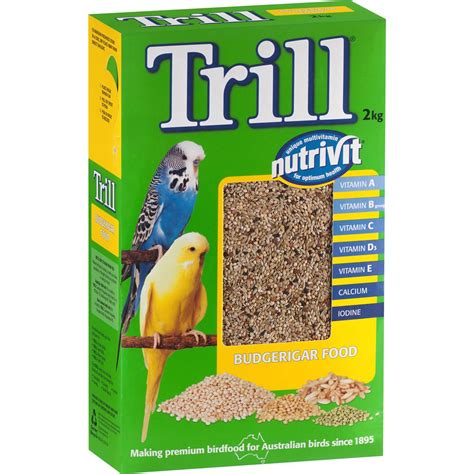 trill bird seed trill bird food budgerigar woolworths