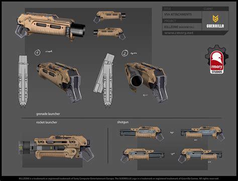 design gun game fantastic killzone shadow fall artwork released