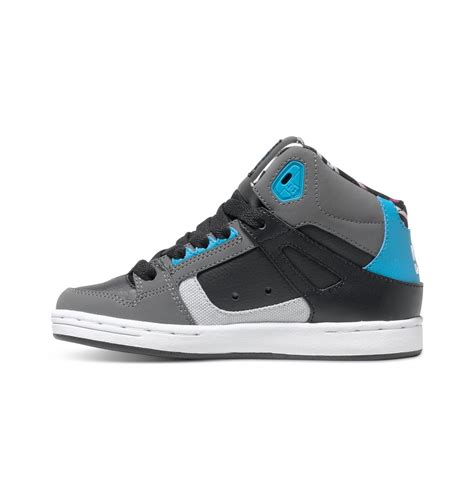 dc shoes high tops for dc shoes rebound kb high top shoes for boys adbs100145