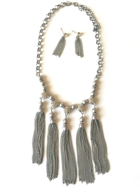 Tassel Statement Necklace tassel statement necklace jewelryurban