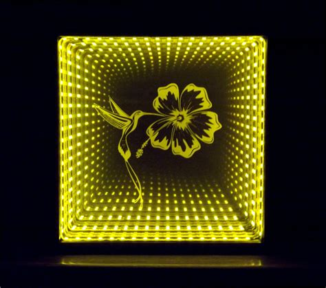 how to make infinity lights infinity mirror with dual yellow and by