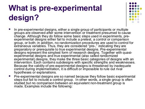 contest design an experimental investigation pre experimental research