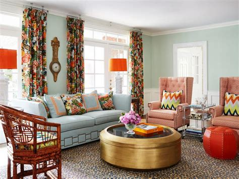 Colorful Chairs For Living Room 20 Colorful Living Rooms To Copy Hgtv