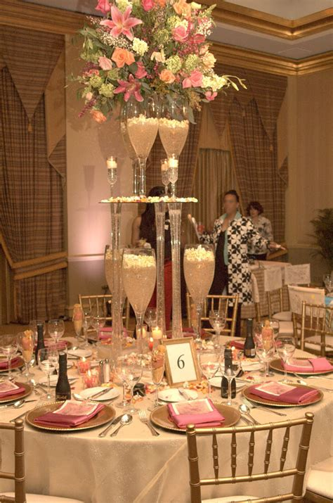 Table Decoration Ideas For Birthday Party by Champagne Wishes And Caviar Dreams Wedding Table