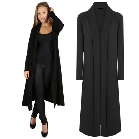 Daster Flowy womens flowy sleeve open front maxi cardigan casual jacket coat cape ebay