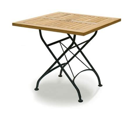 Square Bistro Table Square Bistro Folding Table 0 8m