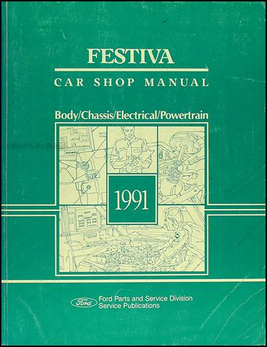 hayes auto repair manual 1991 ford festiva on board diagnostic system 1991 ford festiva repair shop manual original