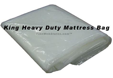 Size Plastic Mattress Bag by King Or Size Heavy Duty Plastic Mattress Bag