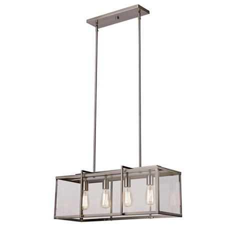 Hanging Kitchen Island Lighting Transglobe Lighting Boxed 4 Light Kitchen Island Pendant Reviews Wayfair