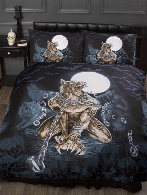 gothic bedding alchemy loups garou werewolf teenage gothic bedroom