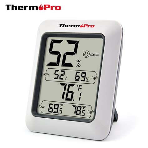 Sanfix Th303a Indoor Thermo Hygrometer original thermopro tp 50 digital hygrometer indoor thermometer humidity monitor with temperature