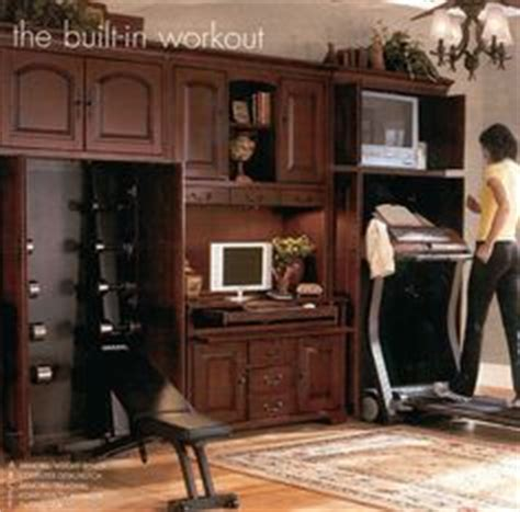 treadmill armoire concealing the treadmill in guest bedroom if it won t fit