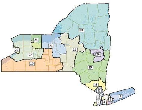 Ny Federal Court Search New Congressional Districts Approved In New York Wbfo
