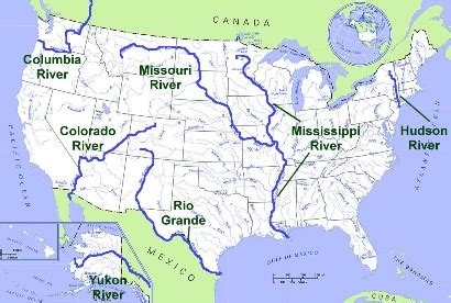 united states geography rivers