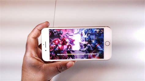 iphone 8 plus gaming review 4k
