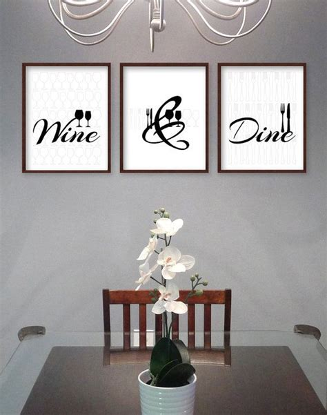 Dining Room Wall Decor by Best 25 Dining Room Art Ideas On Pinterest Dining Room