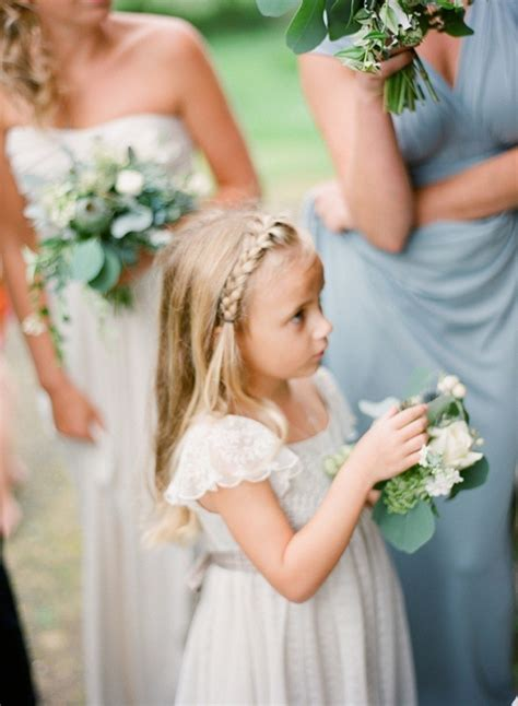 flower girl braided hairstyles for weddings side braid 11 gorgeous hairstyles for little flower
